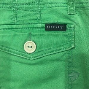 Sanctuary Shorts - Kelly Green Sanctuary Bermuda Shorts Sz 26